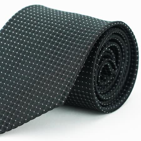 【Alpaca雅派】黑色格紋領帶