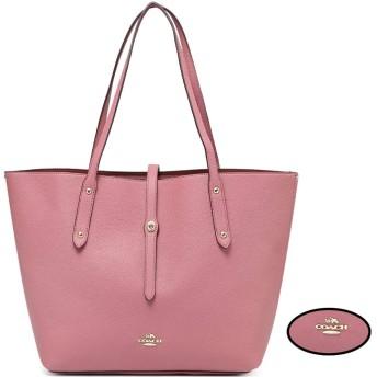 ハンドバッグ トートバッグ レディース 大容量 2way 肩掛け/手提げ シンプル ショッピング/ビジネス/通勤 多機能 色可選択 (ピンク)