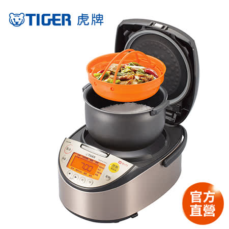 (日本製)TIGER虎牌  10人份高火力IH多功能電子鍋(JKT-S18R)