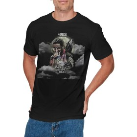 KEATAR 男性用 Fashion 03 Greedo T Shirt ブラック