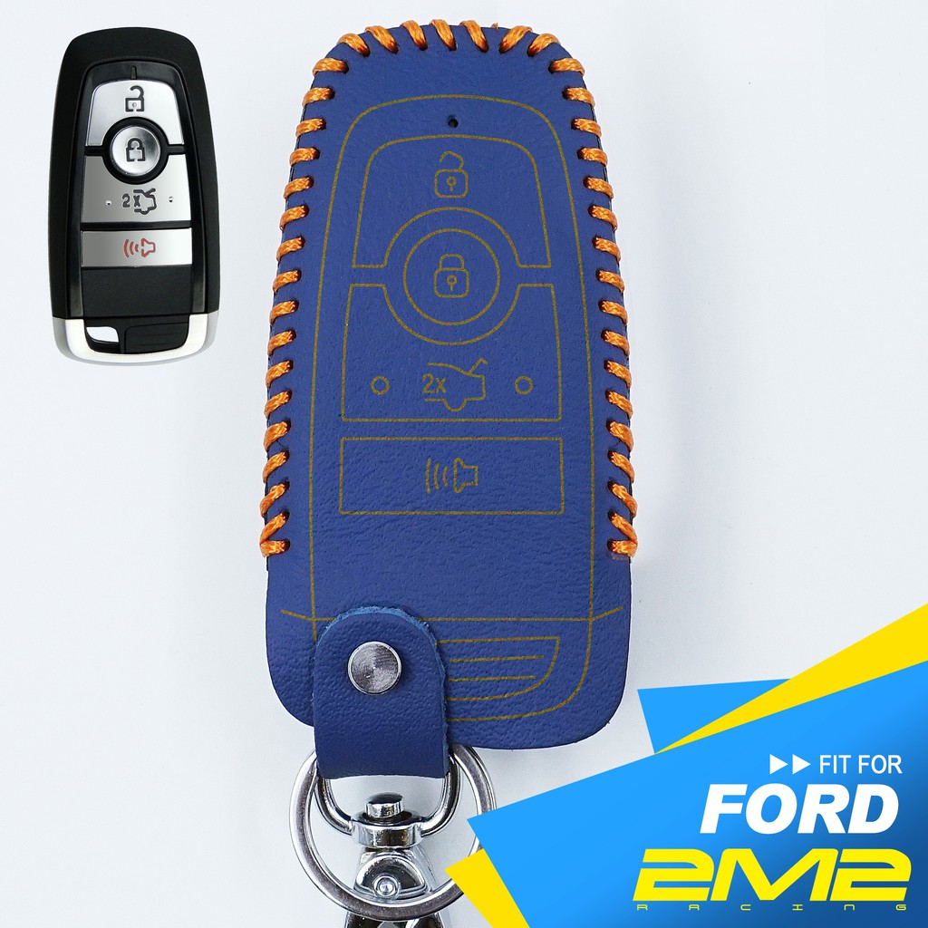 【2M2】2019 Ford Focus 福特汽車 晶片 鑰匙 保護皮套 智慧型 鑰匙包 保護套 鑰匙圈 鑰匙殼