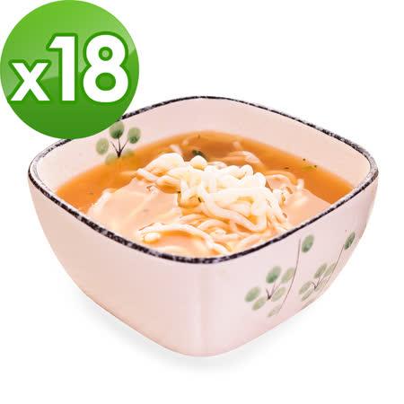 樂活e棧-低卡蒟蒻麵 燕麥拉麵+濃湯(共18份)