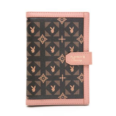 PLAYBOY- 護照夾 Coral Garden珊瑚花園-愛麗絲系列 -粉紅色