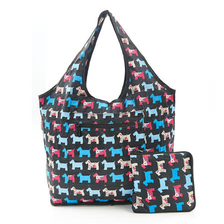 【英國ECO CHIC】時尚折疊休閒袋-雪納黑