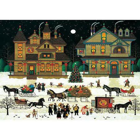 【名畫系列】冬-聖誕氣氛 Winter-X'mas Season 520片拼圖