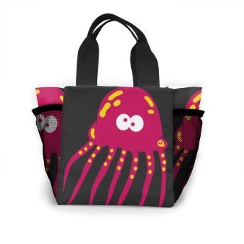 クラゲ トートバッグ 買い物バッグ レディース おしゃれ バッグ ハンドバッグ エコバッグ 人気 ランチバッグ