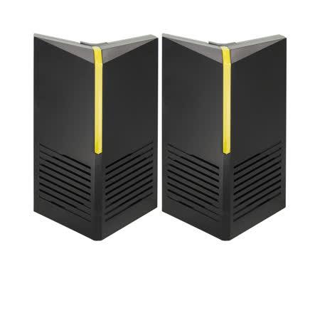 金德恩 台灣製造 室內外營業專用智慧藍牙自動掃頻超音波驅鼠器1盒2入組/特殊磁震波
