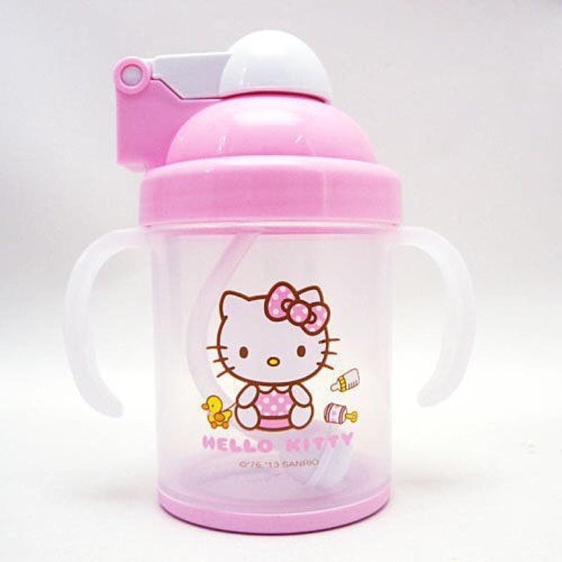 現貨- Hello Kitty自動吸管杯
