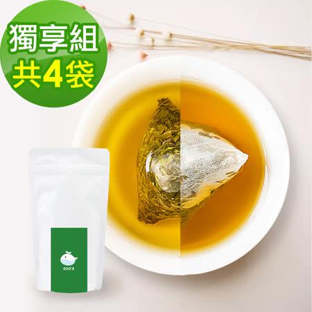 KOOS-香韻桂花烏龍茶+清韻金萱烏龍茶-獨享組各2袋(10包入/袋)