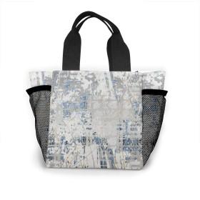 テクスチャー トートバッグ おしゃれ レディース バッグ 買い物バッグ ランチバッグ エコバッグ ハンドバッグ