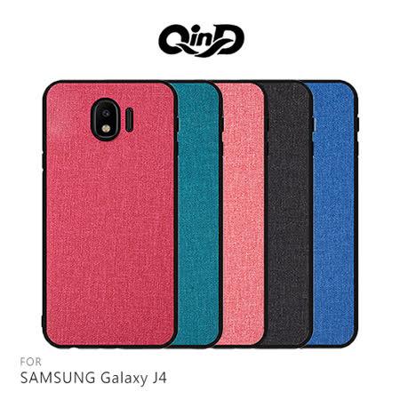 QinD SAMSUNG Galaxy J4 布藝保護套