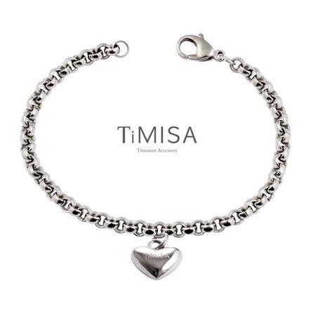 TiMISA 真心風之戀 純鈦手鍊 S
