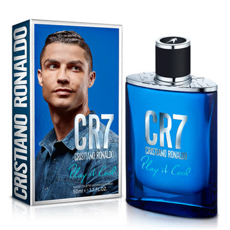CRISTIANO RONALDO 羅納度 CR7玩酷男性淡香水 50ml
