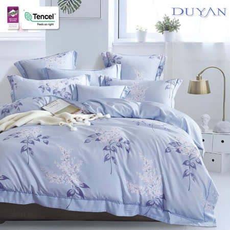 3M吸濕排汗奧地利天絲 TENCEL┃雙人床包被套四件組-晨露花榭 台灣製