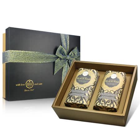 Nesti Dante 義大利手工皂 尊寵黑金淨化皂禮盒 250g×2入