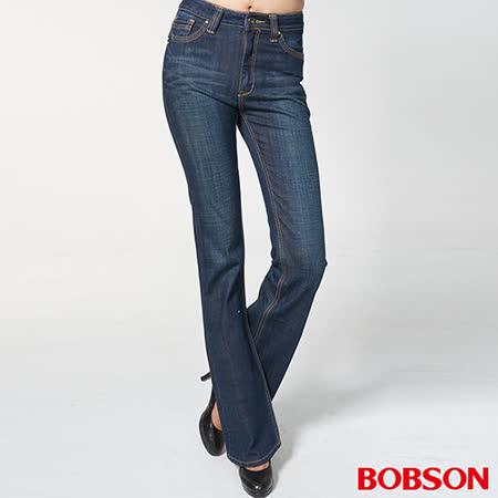 BOBSON 女款鑽飾喇叭褲(9068-53)