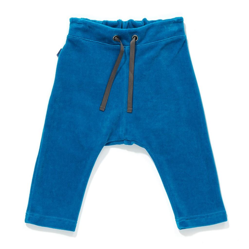 丹麥 Albababy 寶藍色燈芯絨長褲|1-3歲