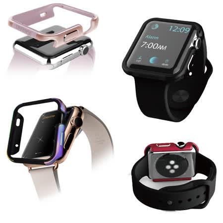 刀鋒Edge系列 Apple Watch 42mm 鋁合金雙料保護殼 保護邊框