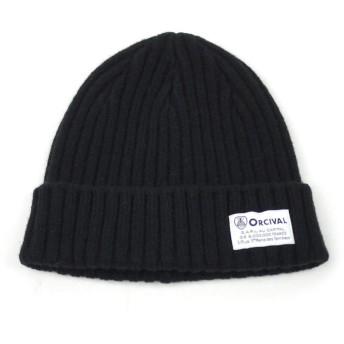[オーチバル・オーシバル] ウォッチキャップ ニット帽 帽子 BLACK(BLK) F(フリー)