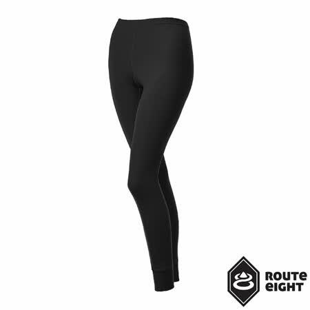 Route8 女 WARM 保暖排汗內搭褲(女) (黑色)