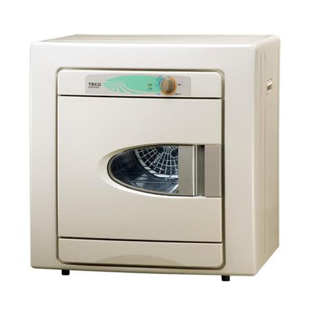 【TECO東元】 6公斤乾衣機(QD6581NA)