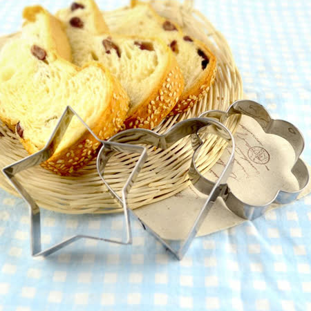 【COMET】不鏽鋼24件組幾何餅乾蛋糕模(JD-03)