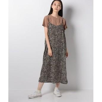 【イーハイフンワールドギャラリー】プリントワンピース+Tシャツセット