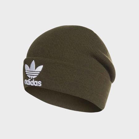 adidas 愛迪達 毛帽 Trefoil Beanie 男女款 DH4298