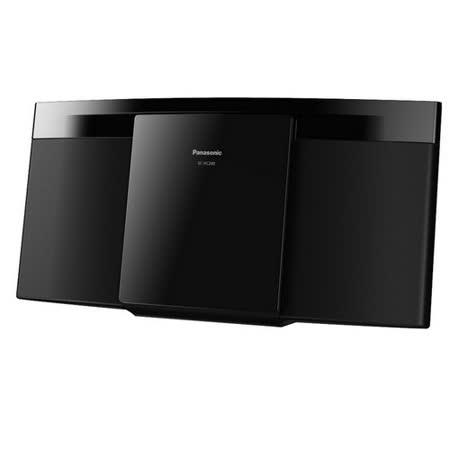 Panasonic 國際牌 輕薄設計輕巧組合音響 SC-HC200GT-K