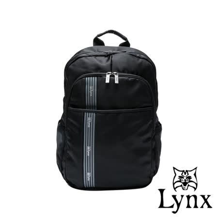 Lynx - 美國山貓休閒百搭款多隔層防潑水機能後背包