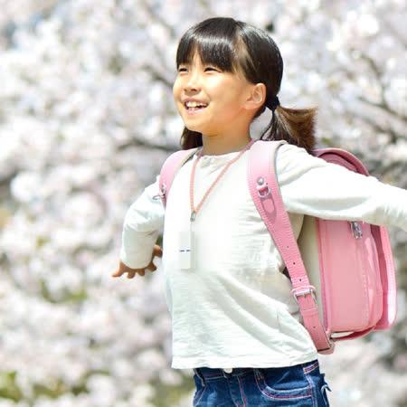 日本IONION 超輕量隨身空氣清淨機 專用兒童安全吊飾鍊-櫻花粉(本商品為吊鍊,不含清淨機主機)