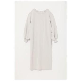 リエンダ rienda Back Pleats Fleece OP-R (ライトグレー)