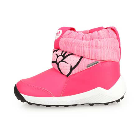 ADIDAS RapidaSnow Minnie I 小童保暖短筒靴 粉紅 G27543
