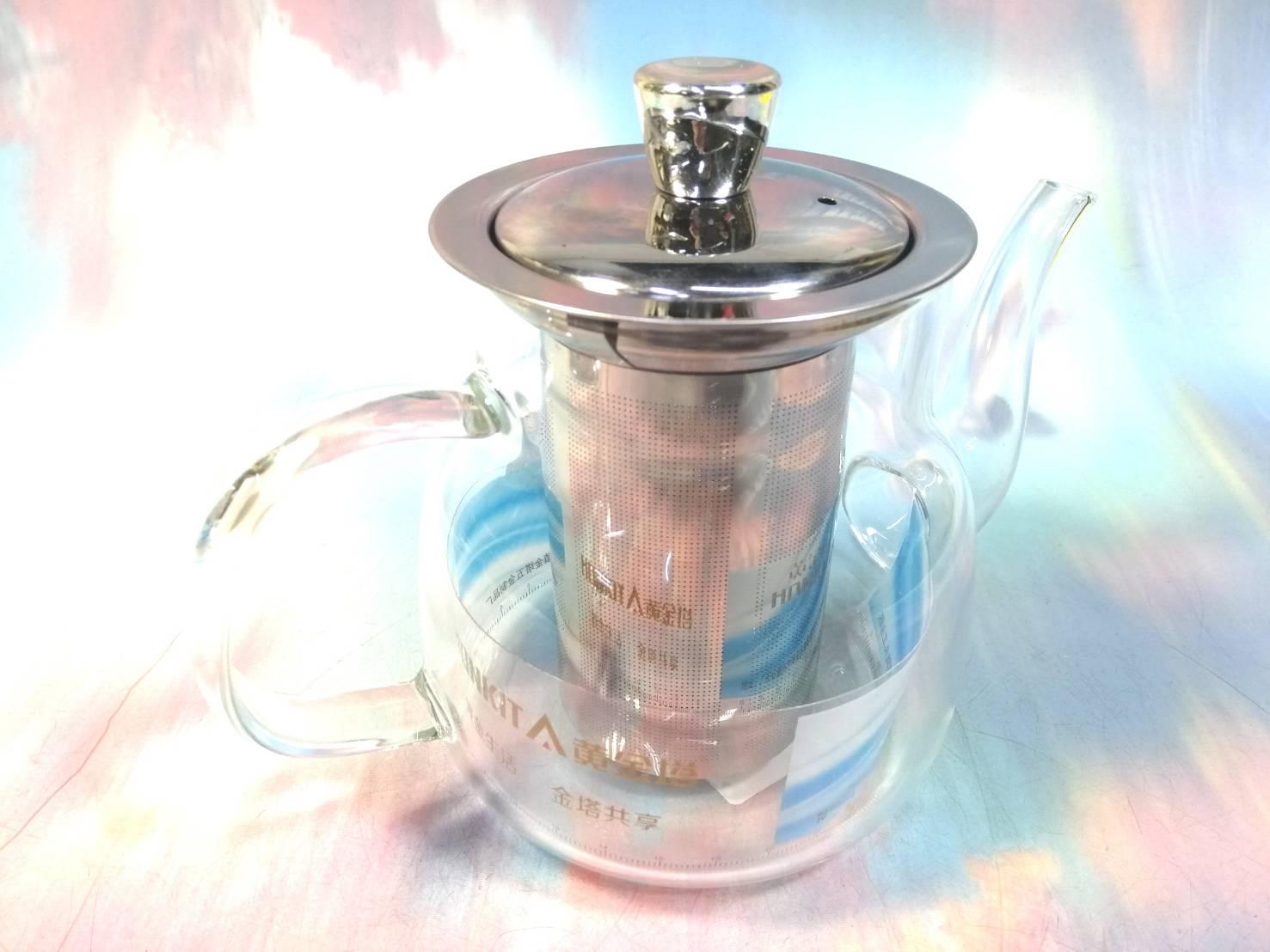 玻璃濾茶壺650ML HJ-320【001191】NO135泡茶壺 沖茶器 泡茶具 花茶杯 濾茶壺《八八八e網購