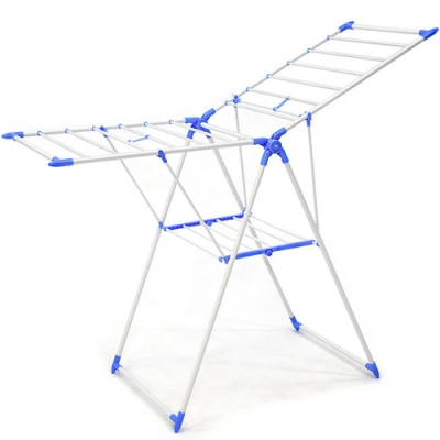 戶外多功能折疊曬衣架 X型蝶形晾衣架