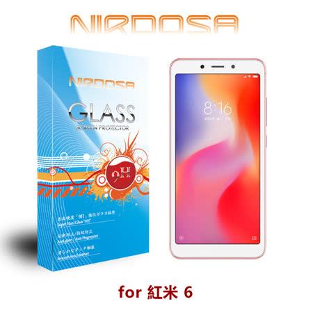 NIRDOSA 紅米 6 9H 0.26mm 鋼化玻璃 螢幕保護貼