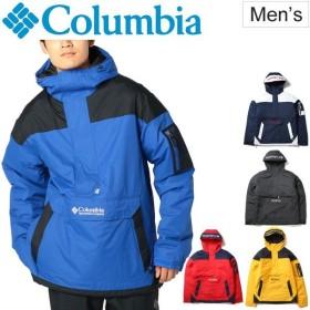 アノラックジャケット メンズ アウター コロンビア columbia チャレンジャープルオーバー 男性 アウトドアウェア 中わた 防寒/WO1136