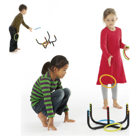 【華森葳兒童教玩具】感覺統合系列-套圈圈 B2-2908