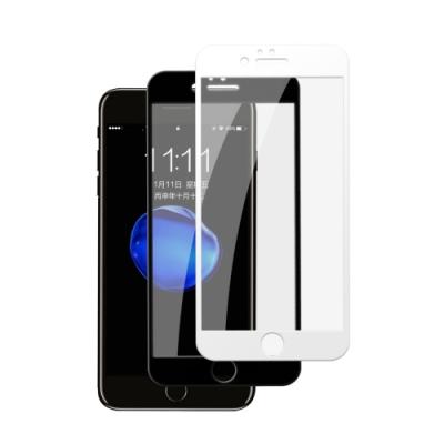 iPhone 6/6S 白色 黑色 軟邊 碳纖維 防刮 保護貼