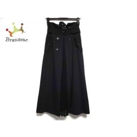 フレイアイディー FRAY I.D ロングスカート サイズ0 XS レディース 美品 黒 プリーツ 新着 20191126