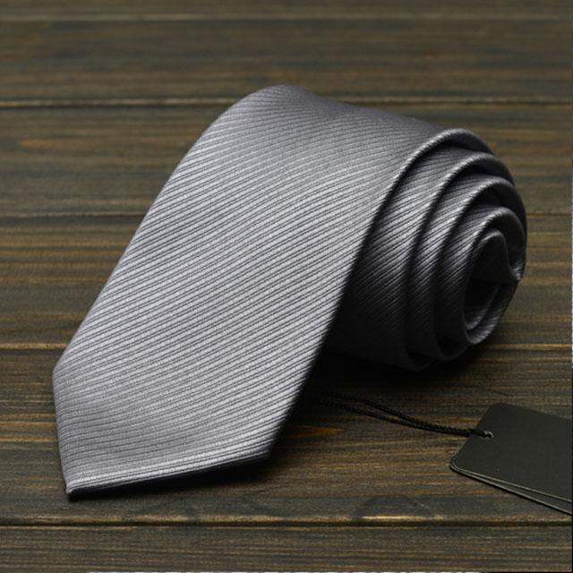 【拉福】領帶寬版領帶8cm防水領帶手打領帶(深藍.銀.黑)
