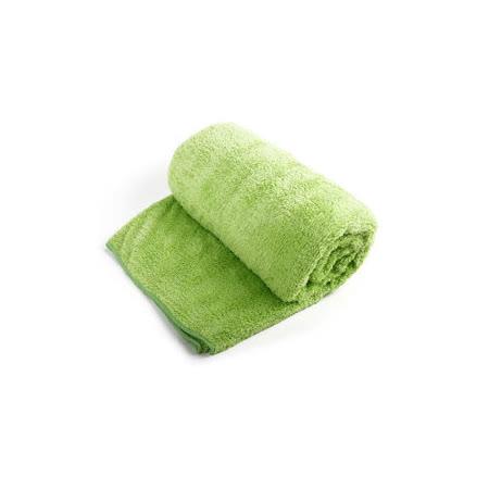 Bonne nuit雪柔綿寶寶浴巾/枕巾(90x50cm) 綠色