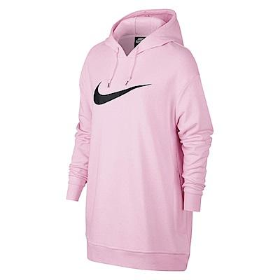 Nike 長版帽T NSW Swoosh Hoodie 女款