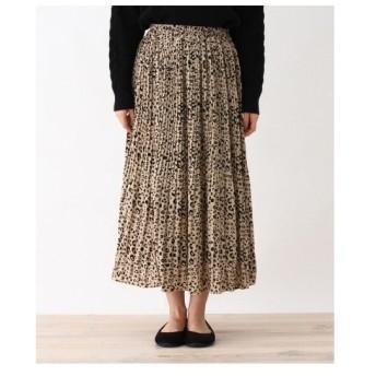 SHOO・LA・RUE(Ladies)(シューラルー(レディース))デシン消しプリーツスカート