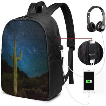 冬の天の川 リュックサック ビジネス リュック バックパック PCバッグ 33L大容量 防水 USB充電ポートとヘッドホンジャック付き 耐傷付き 通勤 通学 旅行 出張 メンズ レディース 男女兼用 バッグ