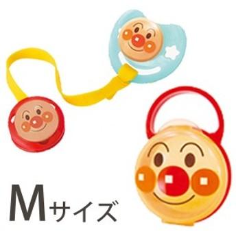 アンパンマン おしゃぶりセット Mサイズ ベビー 3点セット 3~6カ月 KK-178AN シリコン乳首 日本製 キャラクター