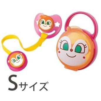 レック ドキンちゃん おしゃぶりセット Sサイズ ベビー 新生児 3点セット 0~3カ月 KK-179AN シリコン乳首 日本製
