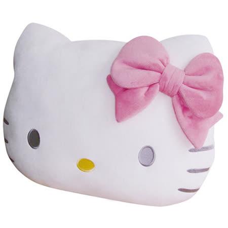 享夢城堡 HELLO KITTY 頭型抱枕