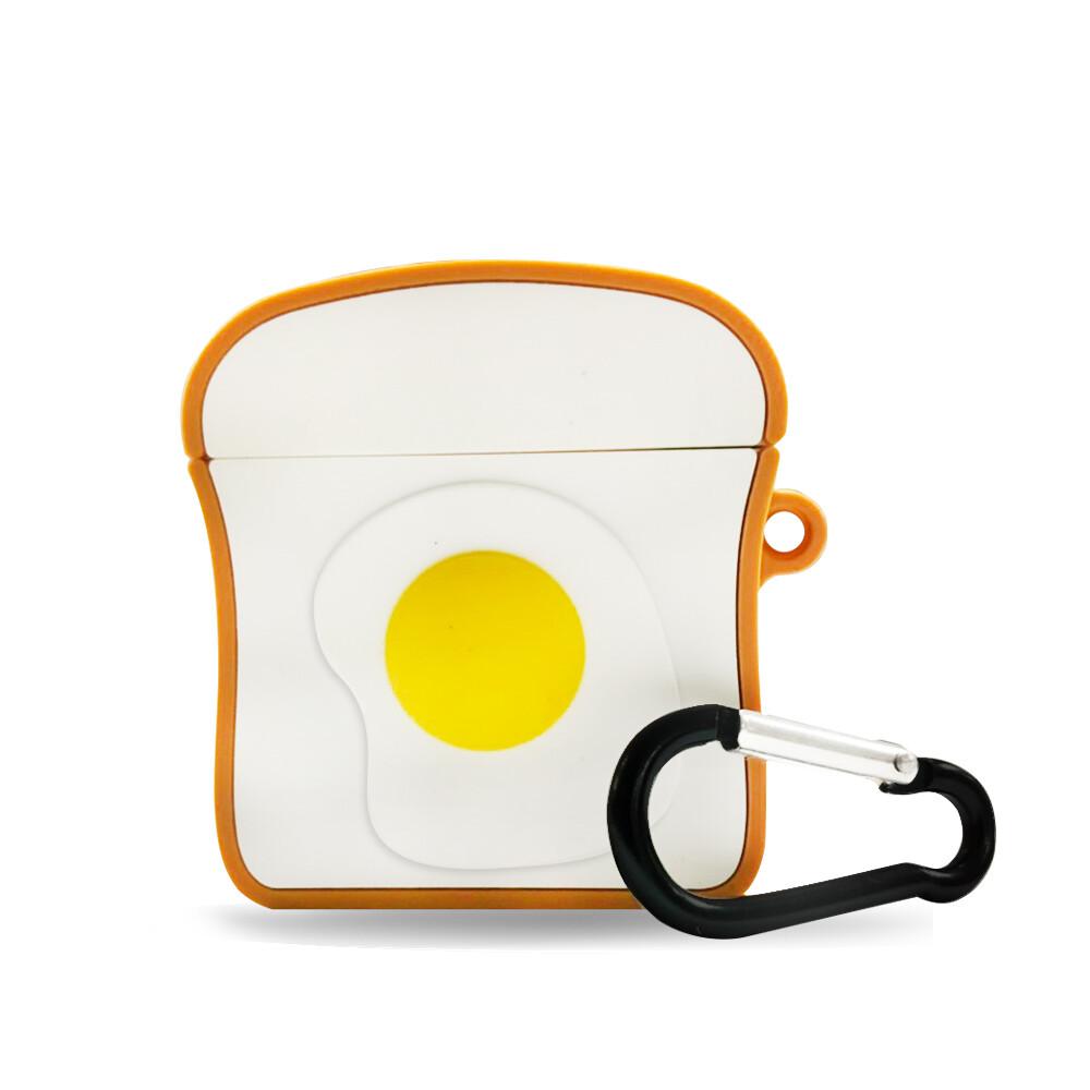 airpods 吐司荷包蛋保護套(1/2代通用)