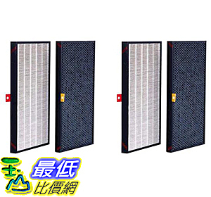 [COSCO代購] W125389 Honeywell 三合一濾網 (2入)2盒組 (HRF-Z2TW)